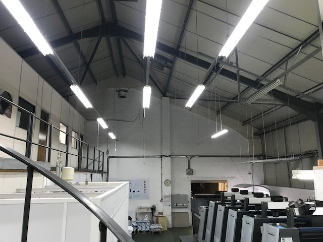 warehouse LED, hibay LED