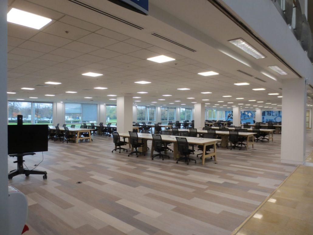 Led Office Ceiling Lights Led Lighting Root3 Lighting Ltd