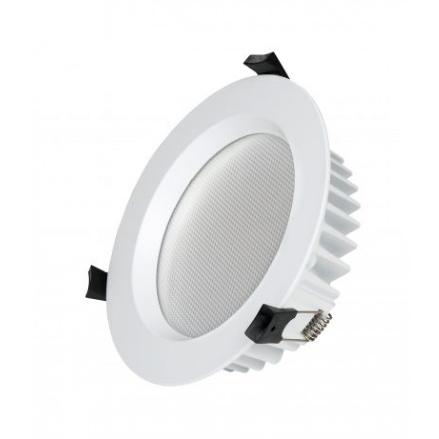 Energy efficient low glare downlight