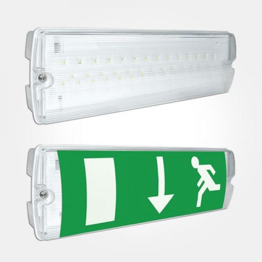 Emergency lighting bulkhead