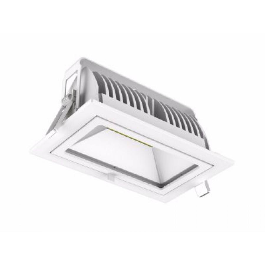 LED tilt rectangle downlight